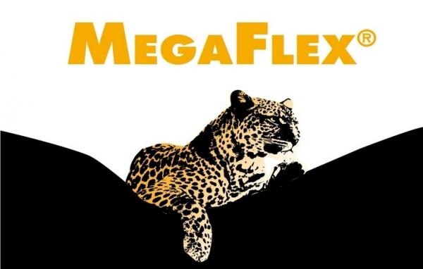 Megaflex zwart wit